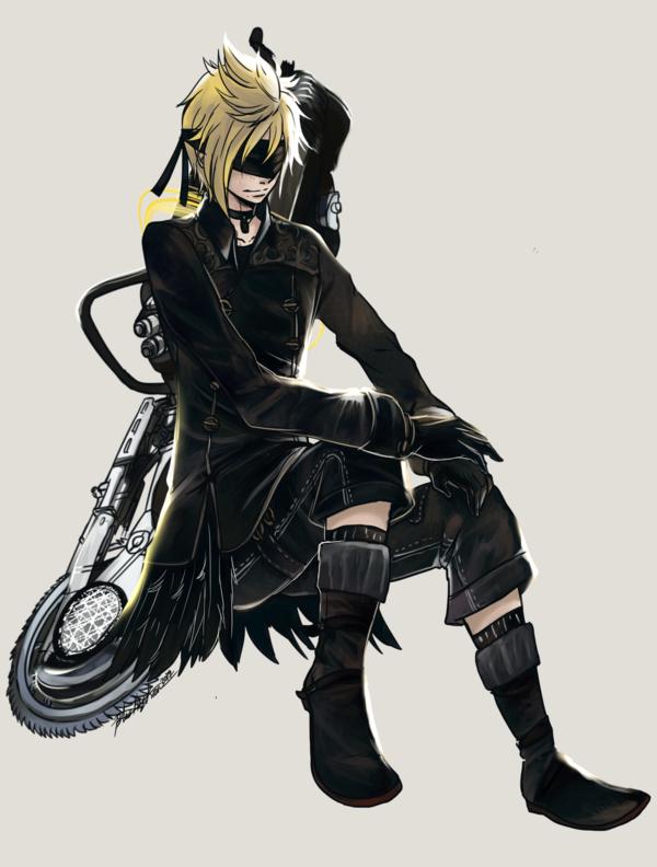 Ffxv X Nier Automata Prompto By Blackenedkrono Db2crdt Png 600 792 Final Fantasy Final Fantasy 15 Final Fantasy Xv