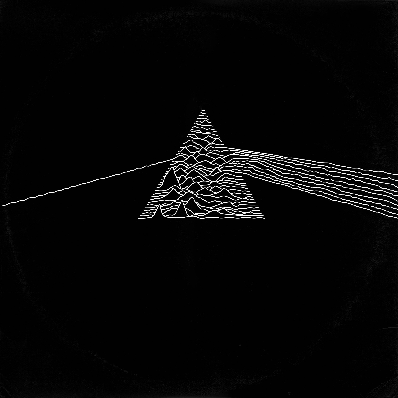 Joy Divison Unknown Pleasures Pink Floyd Dark Side Of The Moon