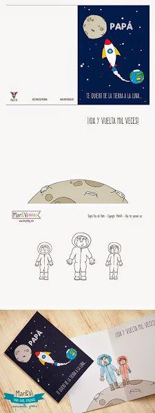 Regalo del Día del Padre: tarjeta para imprimir gratis!