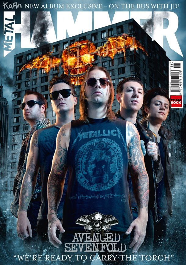 Metal Hammer The Biggest Best Avenged Sevenfold Story You Ll