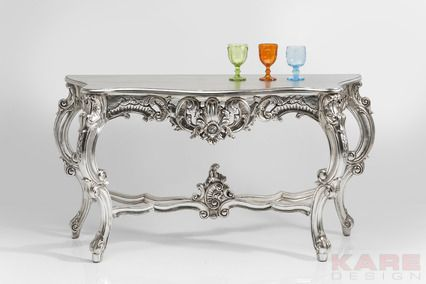 Console Belvedere by KARE Design #gold #glitter #glamour #diamonds #sparkle #blingbling #baroque #luxury #console #KARE #KAREDesign