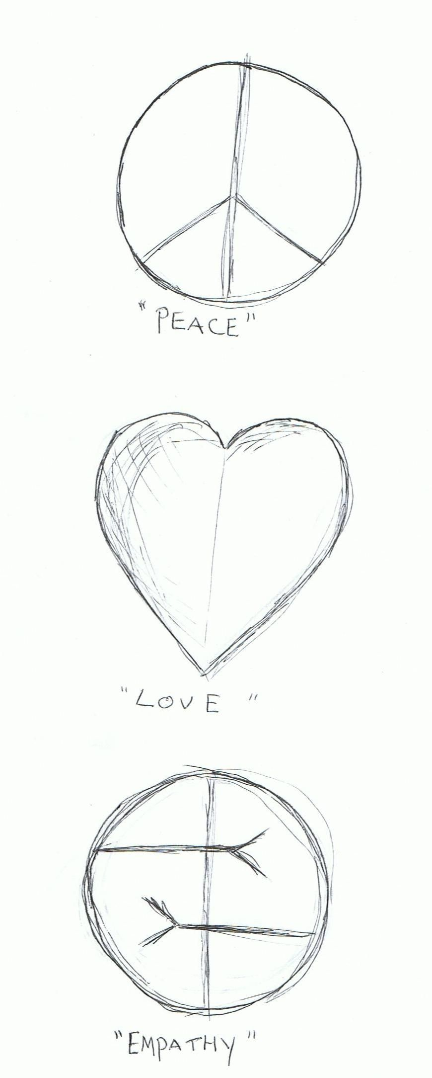 Peace, love, empathy ~ Kurt Cobain