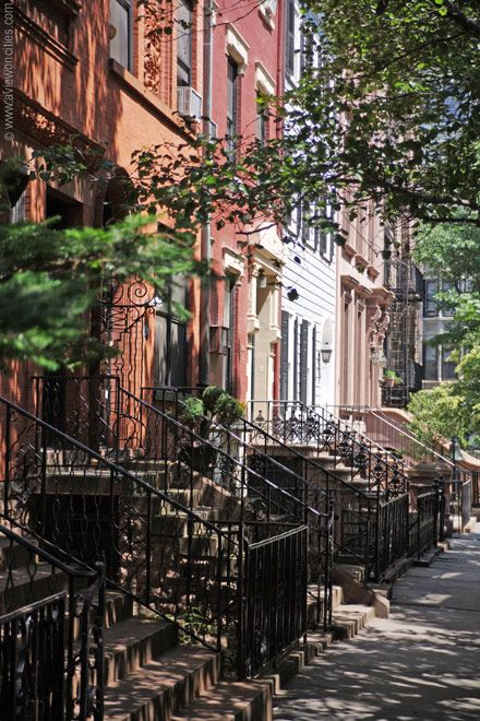 Rowhouses in Brooklyn Heights - New York Pictures