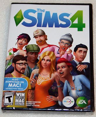 video-gaming: The Sims 4 - Windows PC Mac - NEW & SEALED #Games - The Sims 4 - Windows PC Mac - NEW & SEALED...