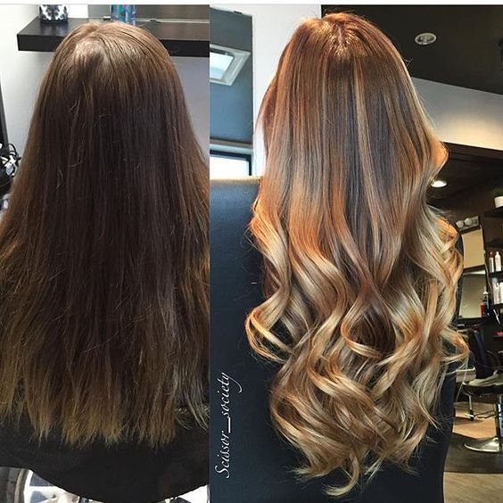 More Brunette Balayage Hair Styles Honey Hair Balayage