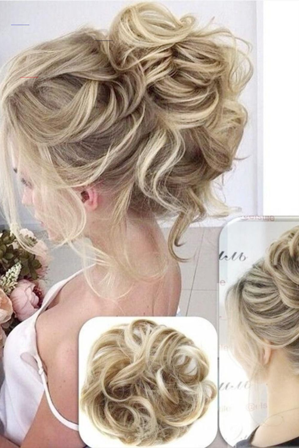 Messy Bun Hair Piece Scrunchie Bunhair In 2020 Bun Hair Piece Bun Hairstyles Hair Piece