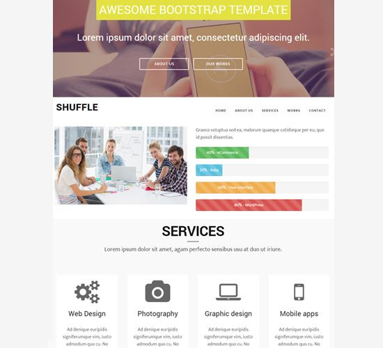 Business responsive template free website templates sample mobile responsive template free templates html mobile website themes best html responsive templates website responsive free bootstrap templates 2015 pronofoot35fo Images