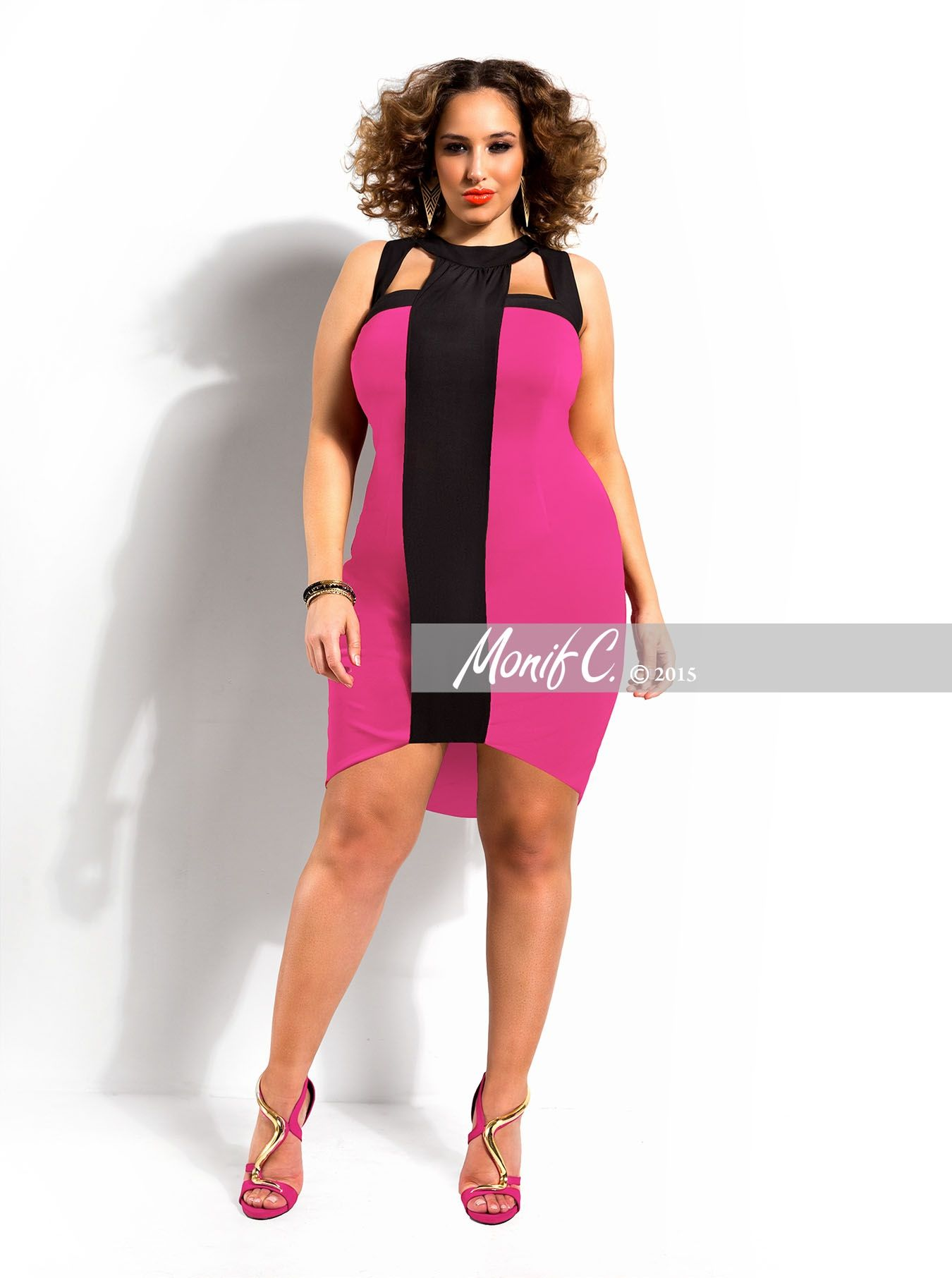 Httpmonifcwhat S Newlayla Colorblock Dress Plus Size