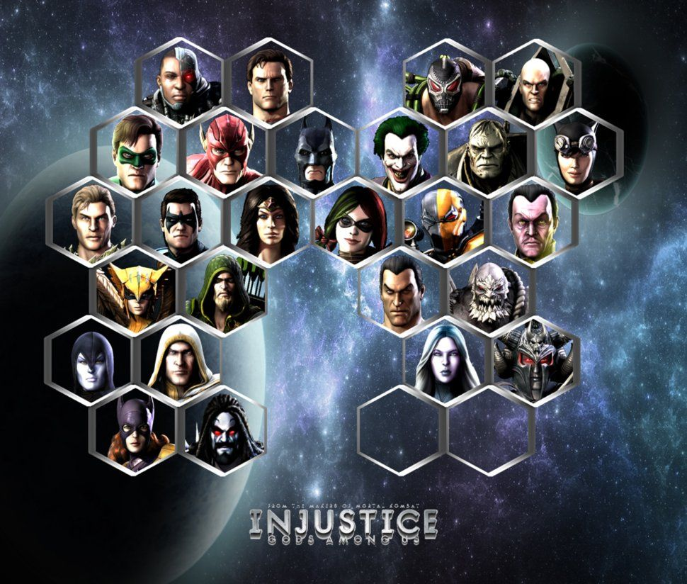 Injustice Gods Among Us Character Alignment Injustice Characters Injustice Character