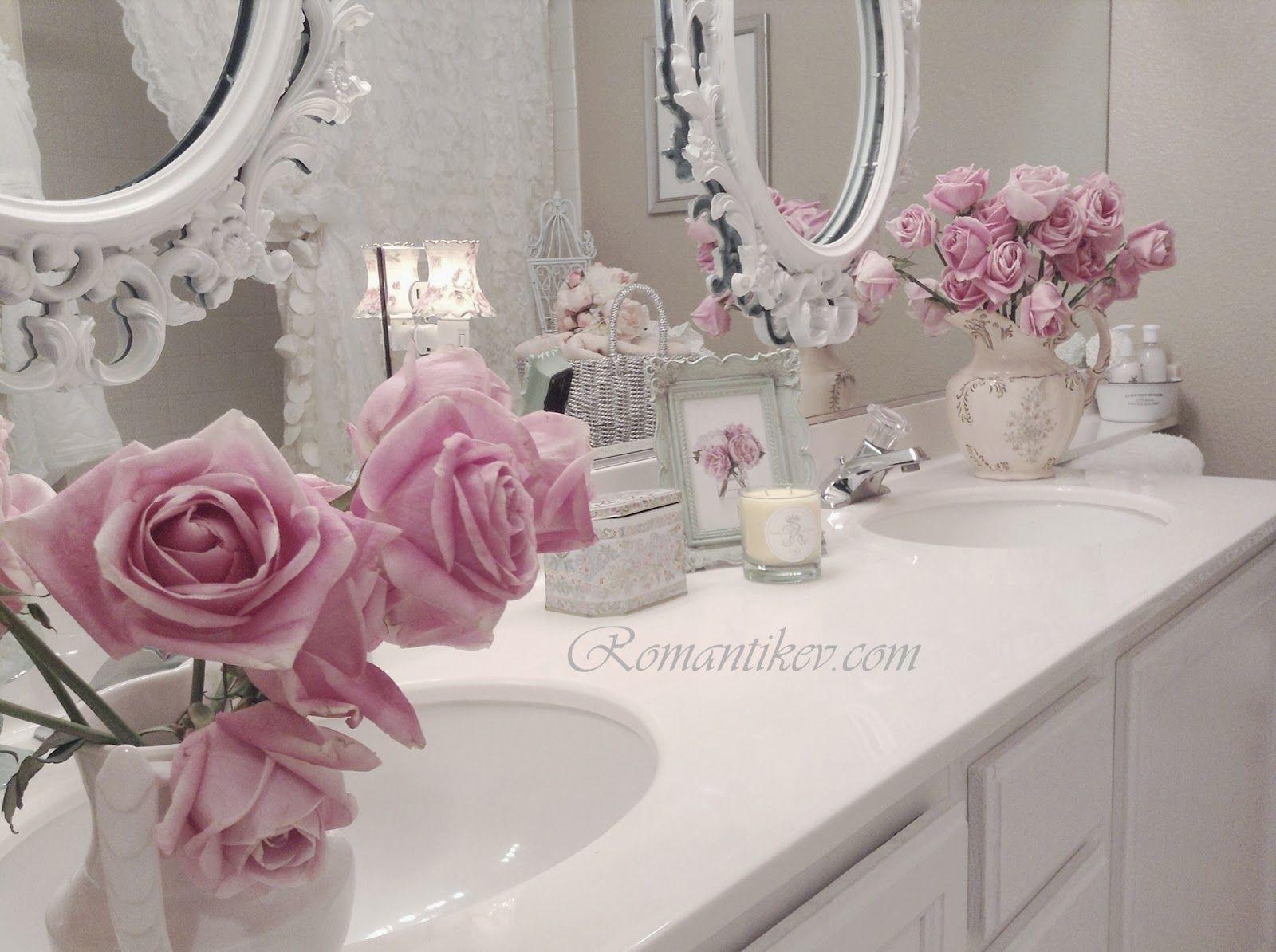 Romantic shabby chic home romantic shabby chic blog - My Shabby Chic Home Romantik Evim Romantik Ev Romantik Ev My Bathroom Shabby Chic Homesromantic