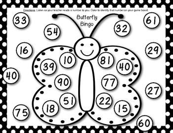 Kindergarten End of the Year Math Games {Fluttering off to First ...