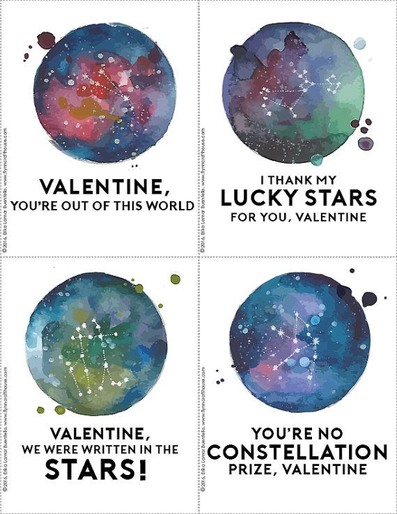 Geeky Astronomy Constellations Valentines Day Cards for the nerdy – Valentine Cards for Lovers