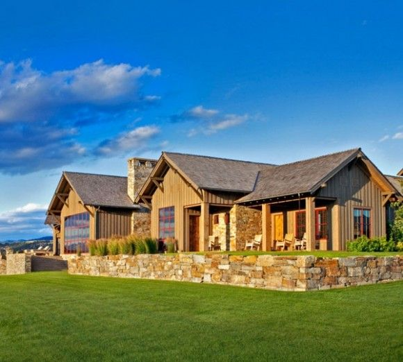 Casa Rustica Pitoreasca In Montana Stock Farm Residence