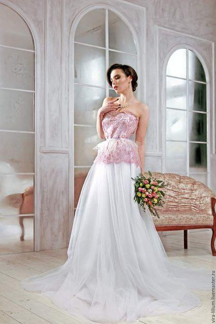 f5ade492ffc Wedding dress   Одежда и аксессуары ручной работы. Ярмарка Мастеров - ручная  работа. Купить
