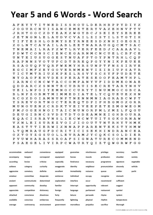 71+ Year 5 Spelling Worksheets Free Uk