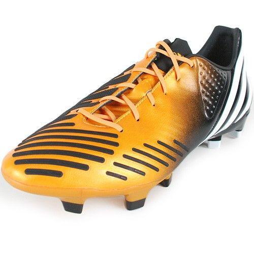adidas Predator LZ TRX FG - Bright Gold/Black #adidas #adidasoccer #soccer
