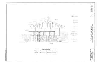 E Fay And Gus Jones House 1330 North Hillcrest Avenue Fayetteville Washington County Ar Habs Ar 52 Thorncrown Chapel Washington County Hillcrest