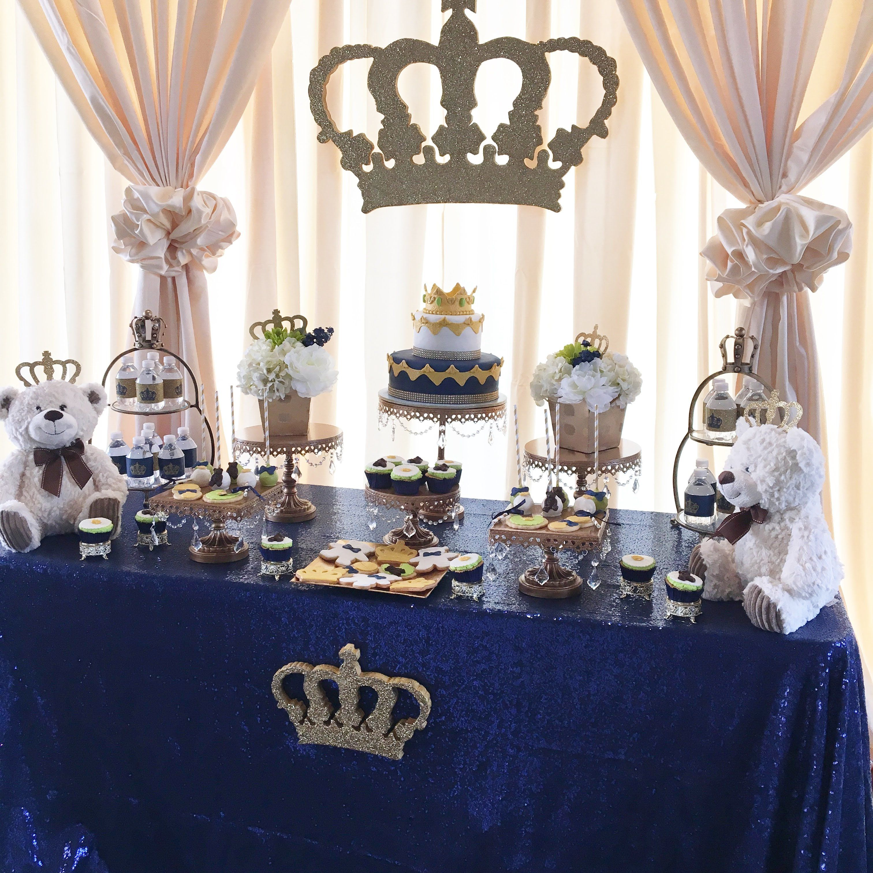 A Royal Prince or King themed Baby Shower  Party time