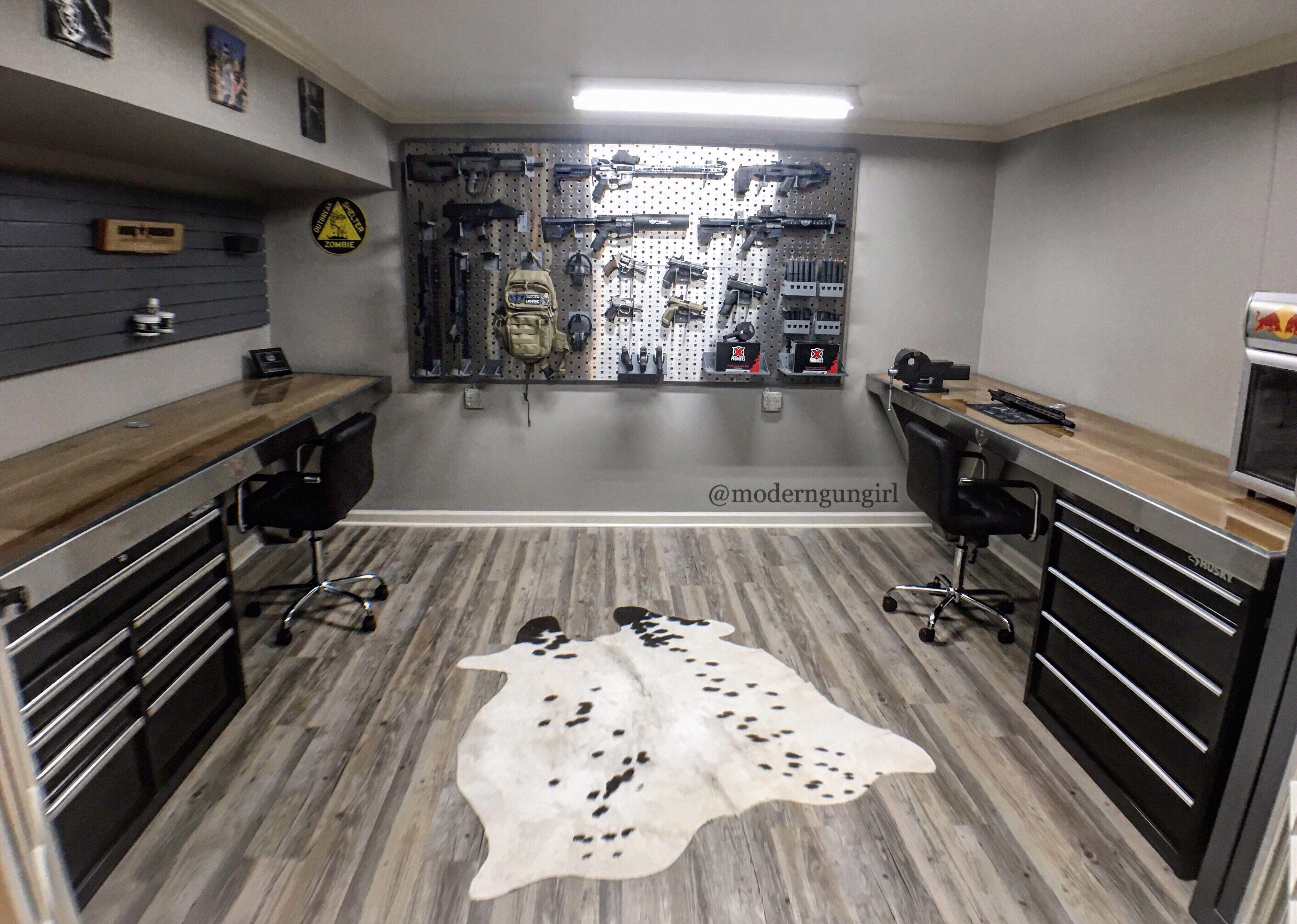 Building a Dream Gun Room at Home | Gun Room & Man Cave ...