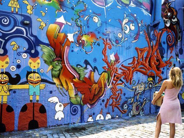 The Blue Wall - Magic Nights in Sao Paulo Brazil.