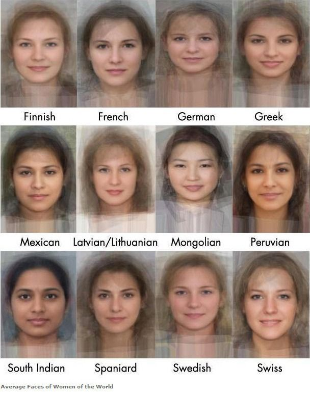 Software Calculates Appearance Of The Average Woman In 41 -7054