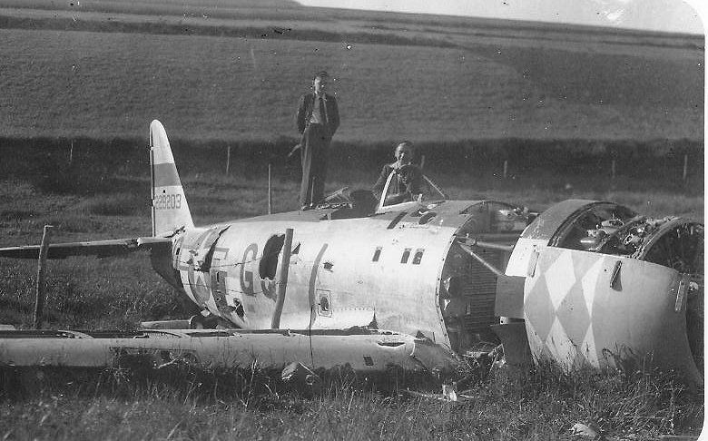 USAAF 42 29203 P 47D Thunderbolt 9AF 354FG355FS GQ Q Jan 02 1945