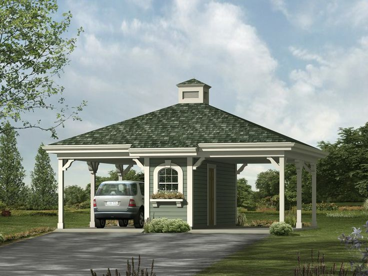 carports with attached dog kennels 2 Car Carport Plans Projects