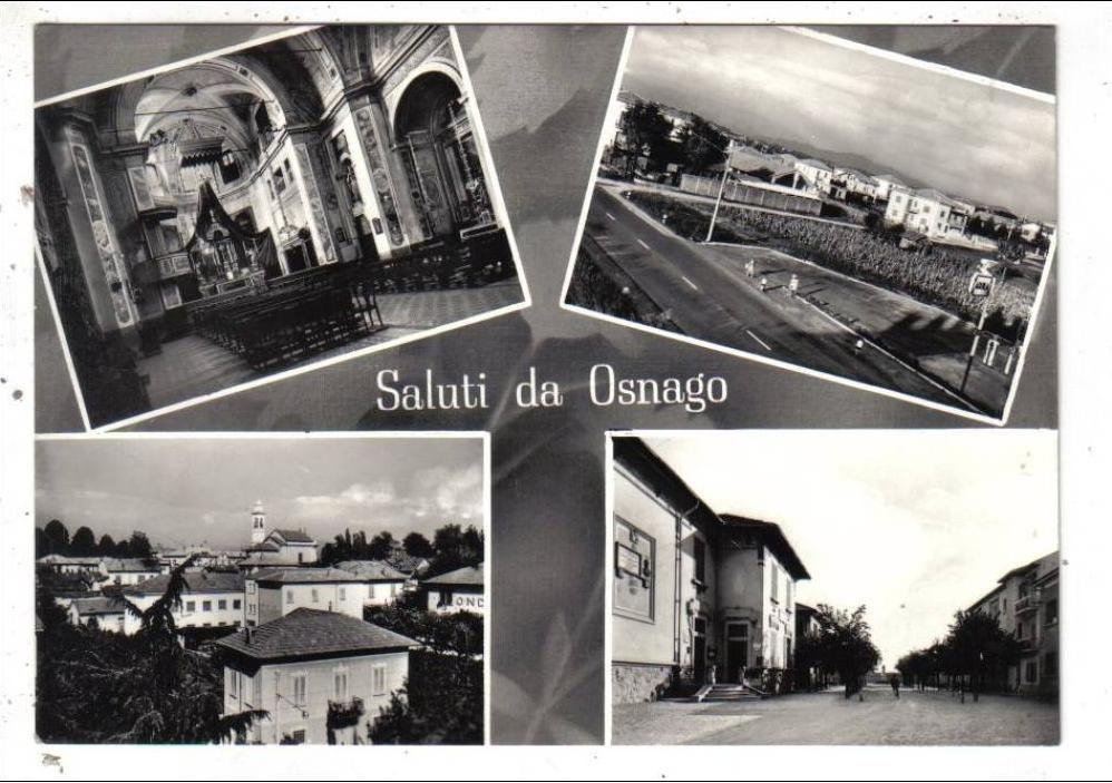 OSNAGO - Souvenir - Primi anni '60