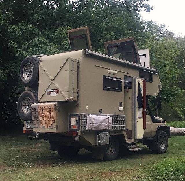 Hjz Camper Travel Expedition Vehicle Camper Van Land