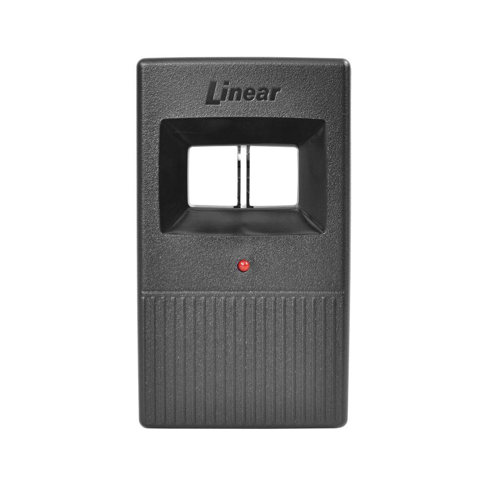Linear Dt 2a 2 Channel Visor Transmitter Remote Control In 2020 Transmitter 9 Volt Battery Remote Control