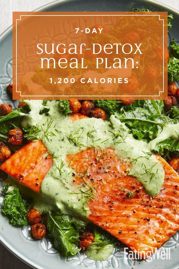 7-Day Sugar-Detox Meal Plan: 1,200 Calories