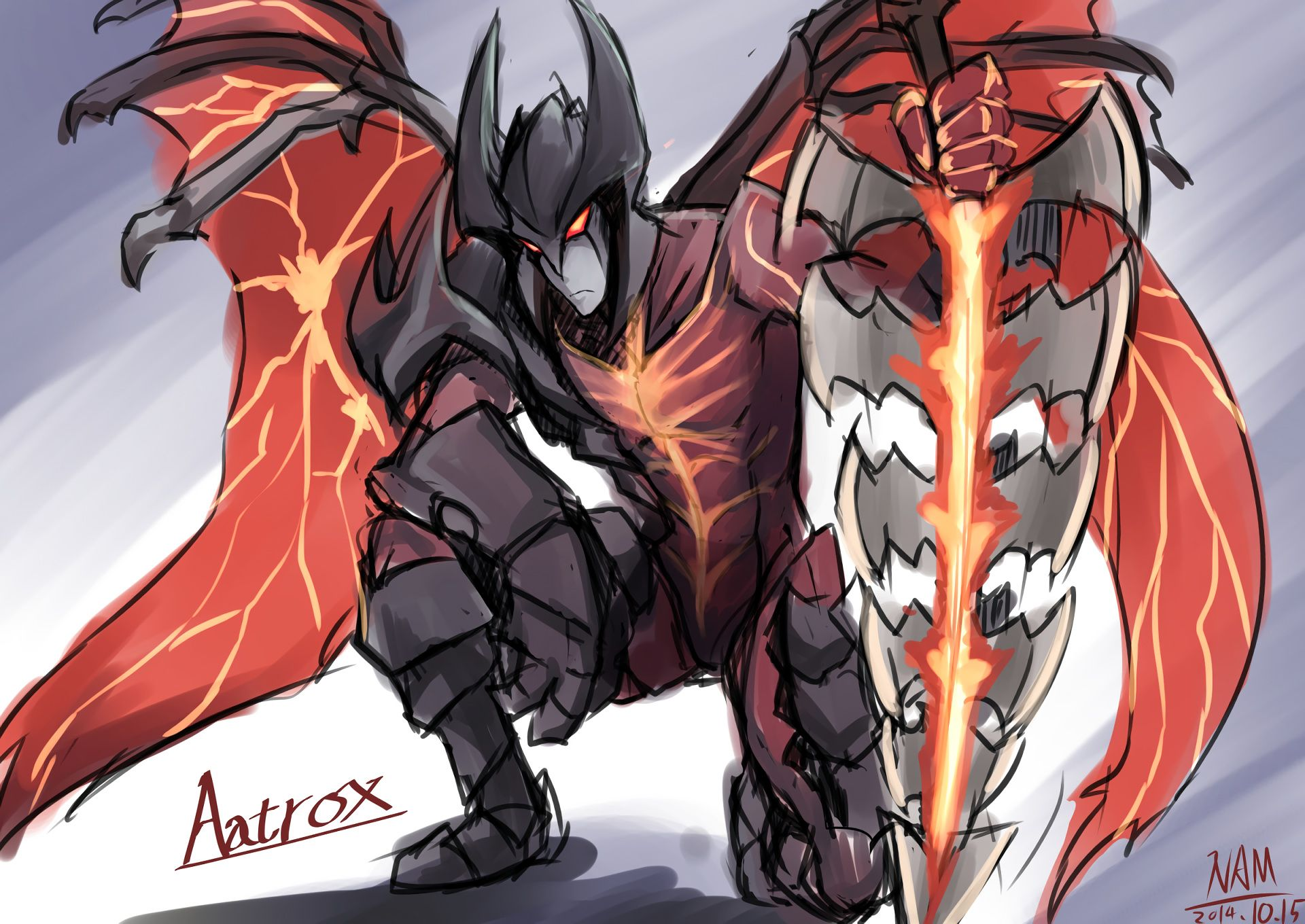 Image result for aatrox lol
