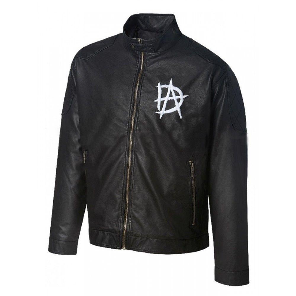 Wrestling Star Dean Ambrose Logo Black Leather Jacket Men S Leather Jacket Leather Jacket Men Black Leather Jacket Men Leather Jacket [ 1000 x 1000 Pixel ]