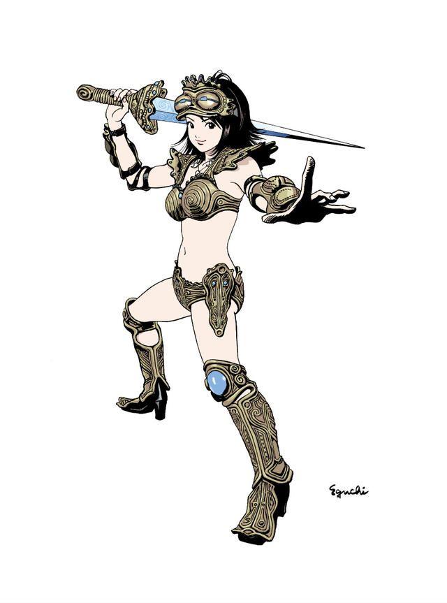 江口寿史の古代少女ドグちゃんの画像