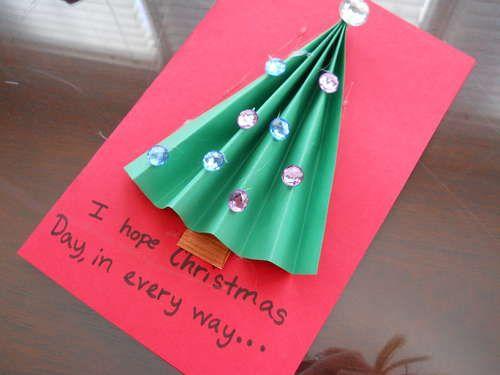 Tarjeta de navidad para regalar Navidad - Christmas Pinterest