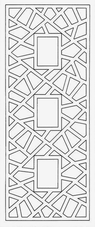 Pin Van Idris Khans Op Templates Patronen Stencil Sjablonen Boekenleggers