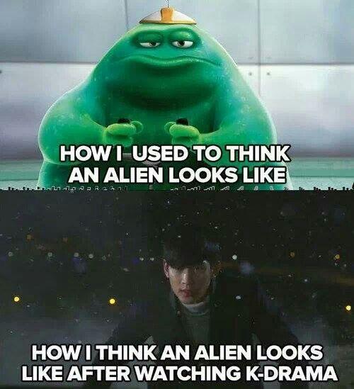 Alien in kdrama