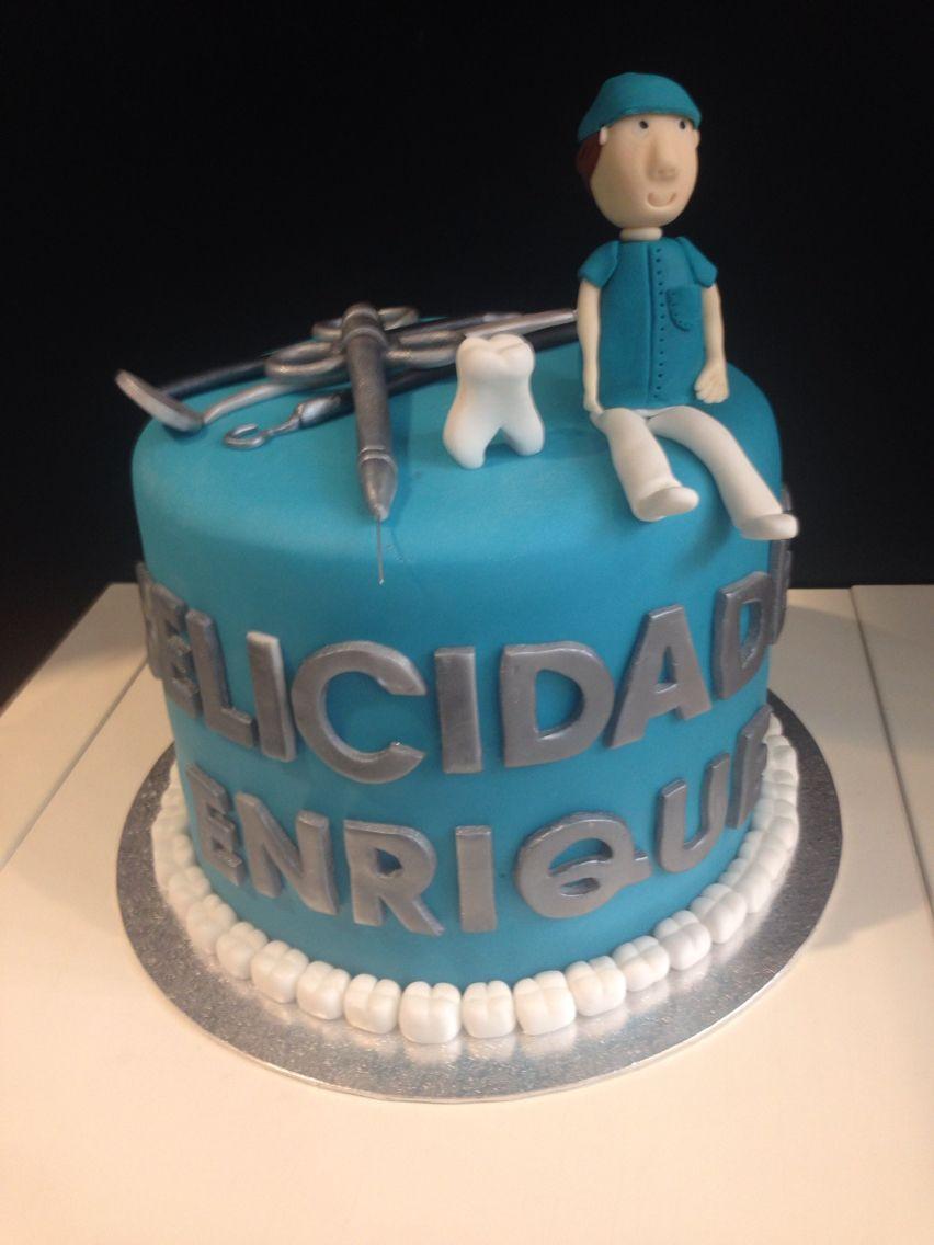 Torta Cake Design Dentista : Dentist Cake. My Cakes. Pinterest Pastel de dentista ...