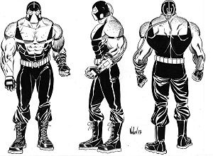 luchador bane - Google Search   Bane, Greatest villains ...