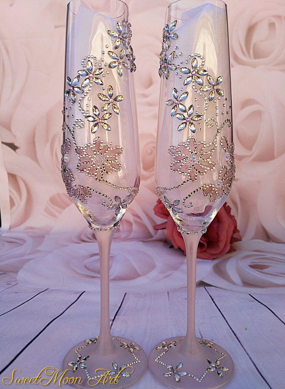 Flautas champagne copas personalizadas copa brindis for Copas de champagne