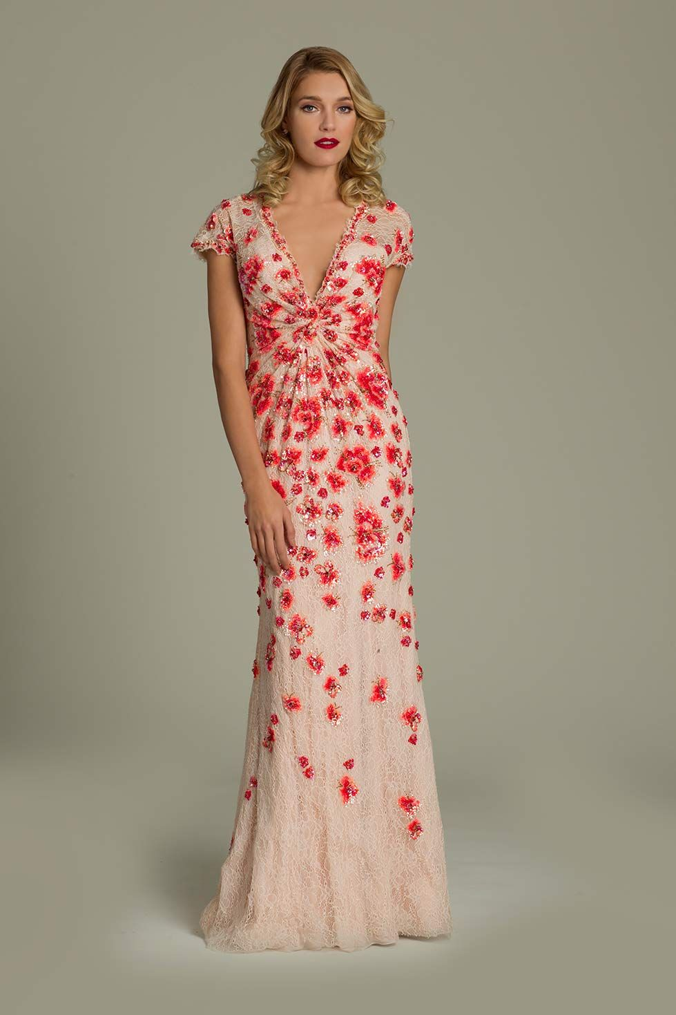 Vneck printed jovani gown clothing pinterest formal gowns