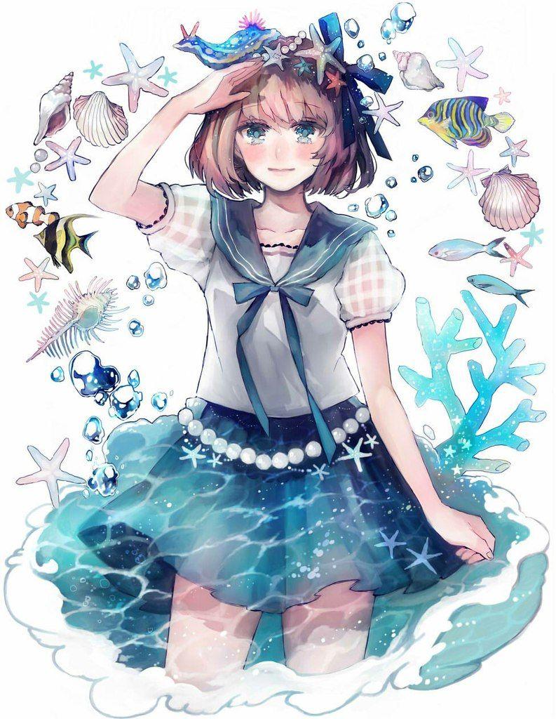 Pin oleh TheNikaMeow [ART_MaMKg] di *Anime_Arts