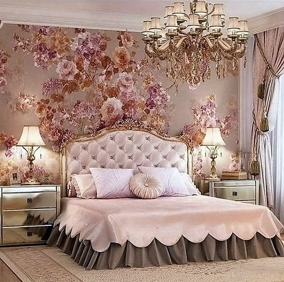 Rose Gold Bedroom 25 Glamor Ideas That Will Mesmerize You Fancy Bedroom Luxurious Bedrooms Bedroom Interior