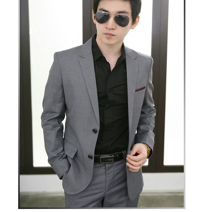 Casual Suits For Men Stylesspring New Korean Fashion Slim Wild
