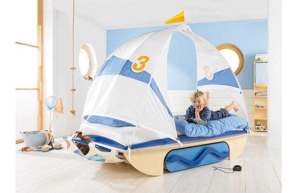 Cot Abenteuerbett Windjammer | Kinderzimmer | Pinterest ... | {Abenteuerbett 67}