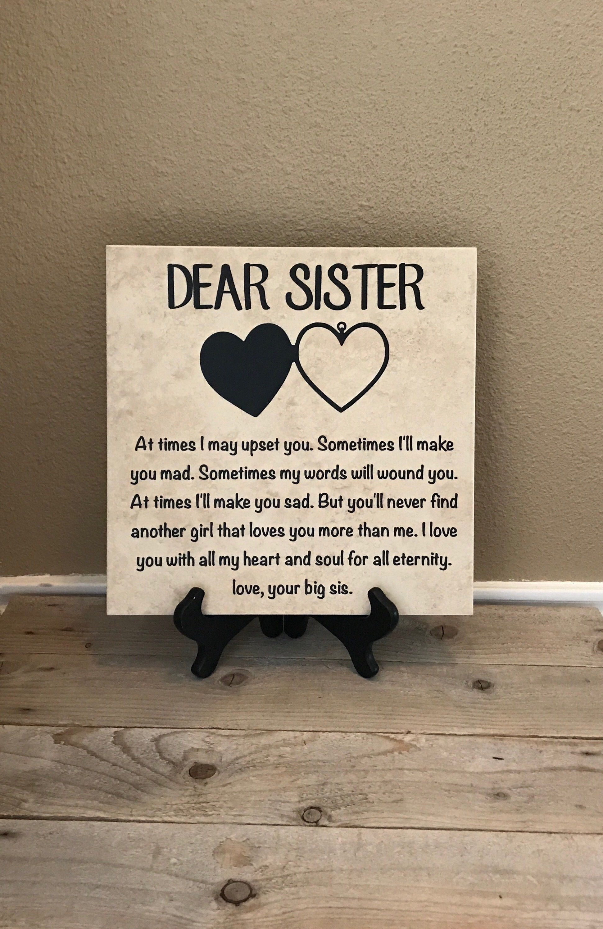 Gift for Sister, Birthday Gift for Sister, Christmas Gift for Her, Sister Gift, Unique Gift for Sister, Sister Birthday Gift, Gift Idea #giftsforsister
