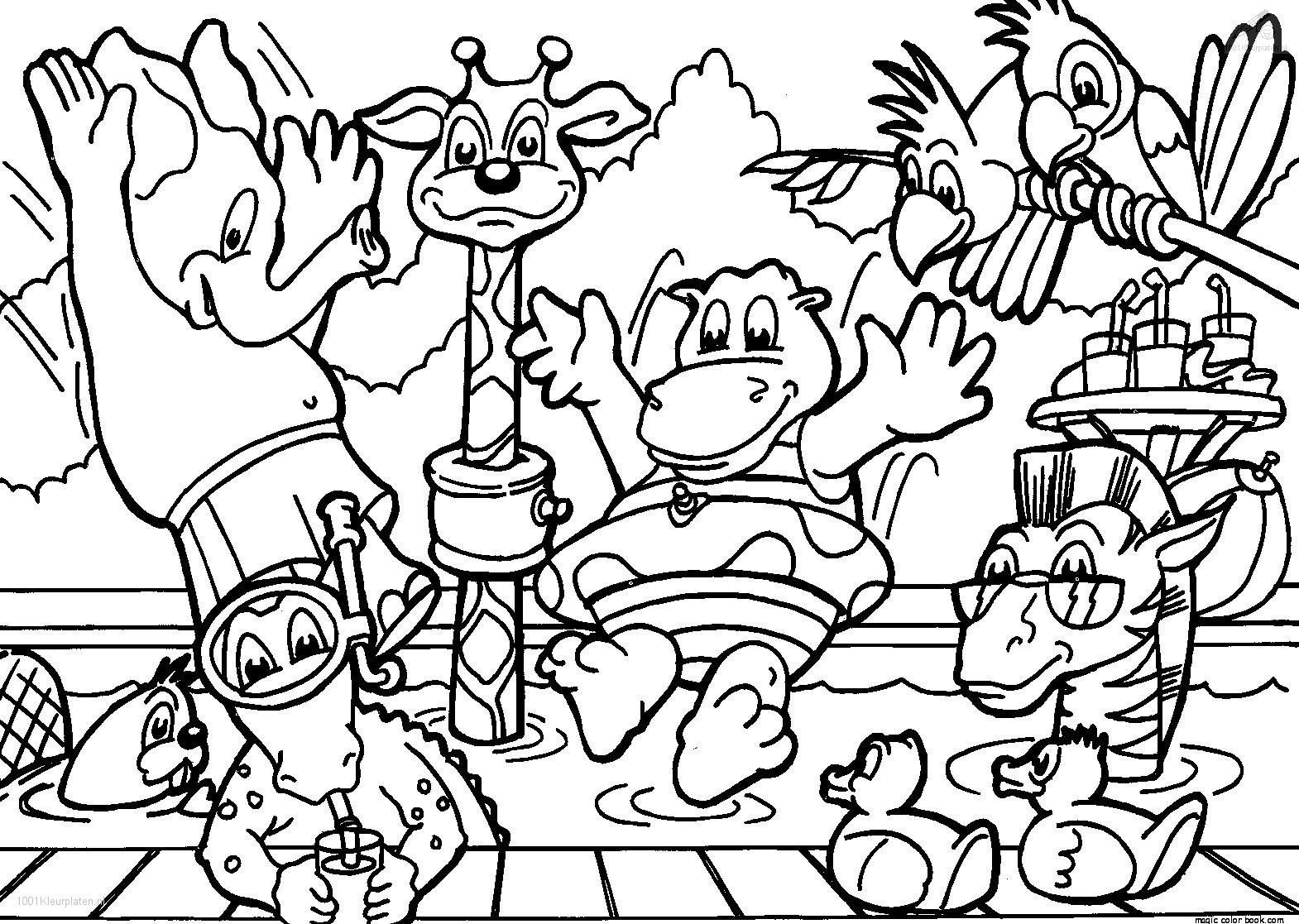 Free Safari coloring pages to print for kids. Description from ...