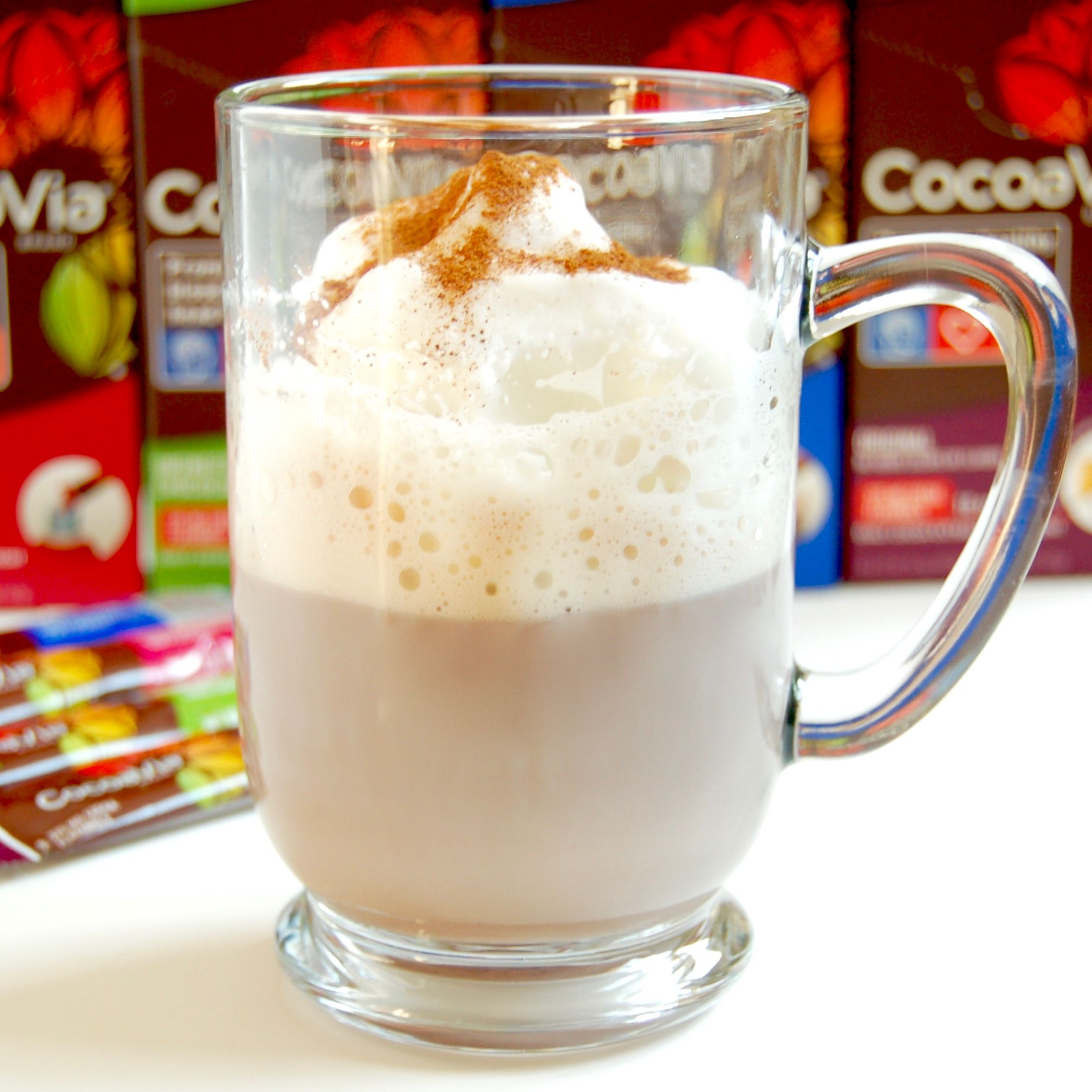 Cocoa Flavanols & Homemade Caffé Mocha Recipe {Vegetarian