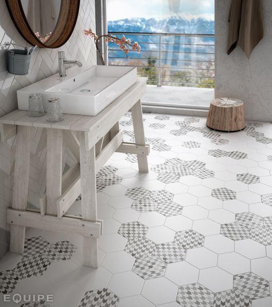 Carrelage sol, salle de bain, cuisine et terrasse C Ciment