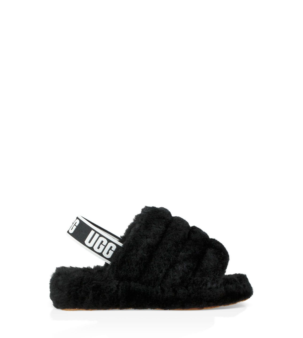9dec7198135 Fluff Yeah Logo Slide in 2019 | shoess | Ugg sandals, Shoes, Sandals ...